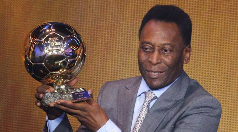 jersey unveiled kolkata awaits pele s arrival the indian express. Black Bedroom Furniture Sets. Home Design Ideas