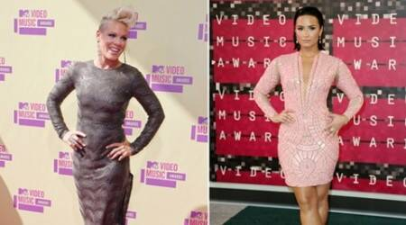 Pink says no issue with Demi Lovato after VMA comments go viral