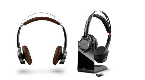Plantronics launches BackBeat Sense and Voyager Focus UC headphones