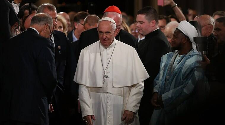 Pope Francis, Pope, Pope greece, Lesos, Pope Lesbos visit, Pope Francis Greek ISland visit, Greek island, refugee, humanitarian crisis, EU, world news