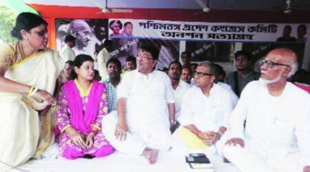 Sabang murder: Congress MLA Bhuniya on hunger strike in Kolkata