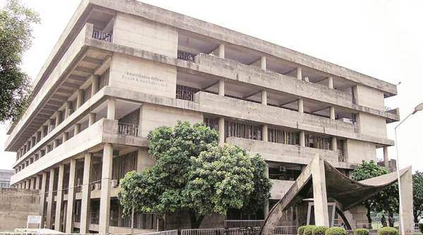 The Administrative Block of Panjab University.  (Express Photo)