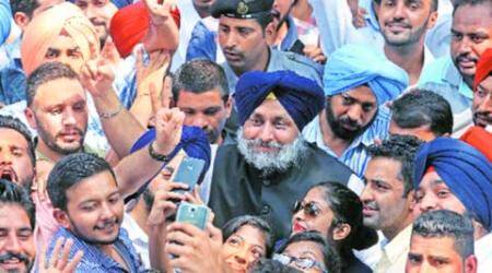 Swearing-in of PUCSC office-bearers: Sukhbir announces a grant of Rs 3 cr to Panjab University