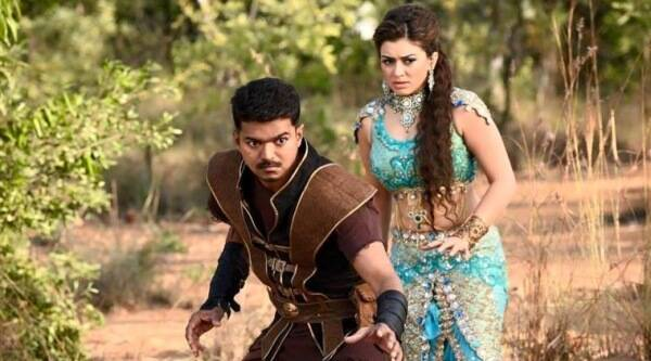 Puli, Puli Trailer, Puli Movie, Puli songs, Puli vijay, Puli vijay stills, Puli Director, Puli actors, Puli Scenes, sridevi, Vijay, Shruti Haasan, Sridevi, Hansika Motwani, chimbu Deven, Puli vijay Movie, Entertainment news