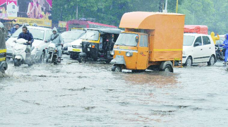 rain, weather, pune rain, maharashtra rain, IMD, indian express