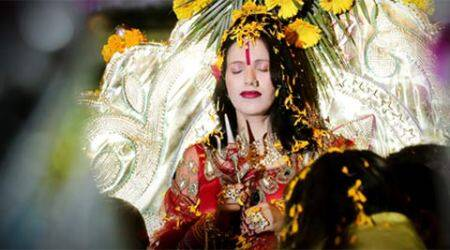 FIR lodged against self-styled godwoman Radhe Maa for carrying 'trishul' on Mumbai flight