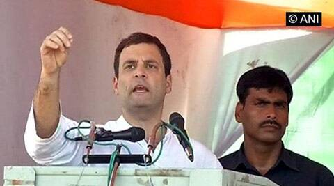 Rahul Gandhi attacks Narendra Modi