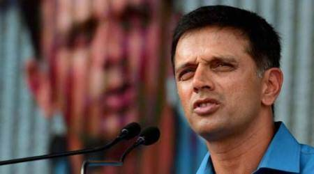 'Rahul Dravid Dressing Room' greets Team India in Indore