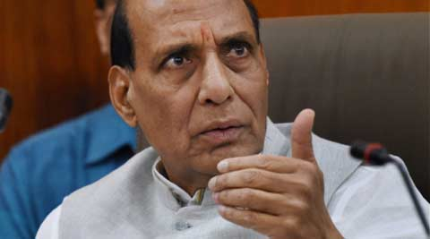 Don't give political colour to Dadri lynching incident: Rajnath Singh