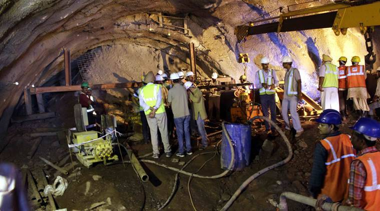 Tunnel trap, tunnel collapse, Himachal Pradesh tunnel collapse, Himachal Pradesh Tunnel trap, Himachal Pradesh, NDRF, workers trapped, Nation news, india news