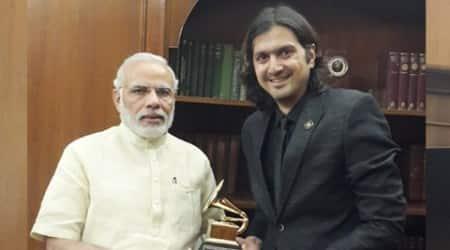 Grammy winner Ricky Kej meets PM NarendraModi