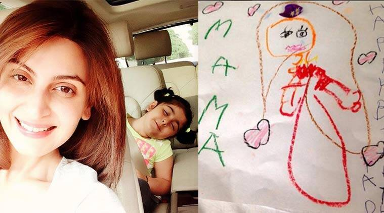 Neetu and Rishi Kapoors daughter Riddhima gets handdrawn cards – Bollywood Birthday Card