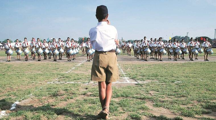 knickers, RSS knickers, RSS pracharak, baggy, khaki shorts, RSS uniform, RSS historic uniform, talk, indian express