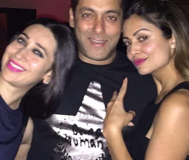 Salman Khan, Salman Khan Karisma Kapoor, Karisma Kapoor, Anu Dewan party, Salman Khan Amrita Arora, Amrita Arora