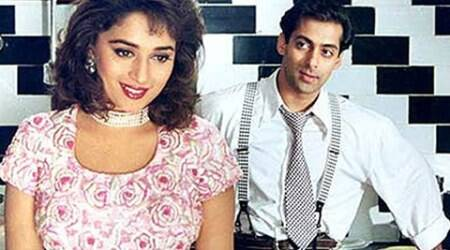 Salman denies Madhuri was paid more for 'Hum Aapke Hain Koun!'