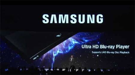 Samsung unveils world's first Ultra HD Blu-ray player at IFA2015