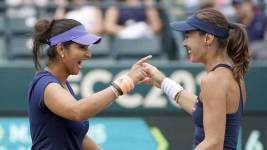 Sania Mirza Returns To India After US Open 2015Win