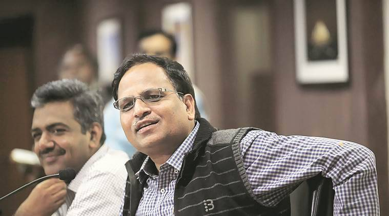 AAP government, Arvind Kejriwal, Satyendar Jain, Anti-Corruption Branch, ACB, app-based bus aggregator, AAP government, Delhi Assembly, AAP government, Najeeb Jung, Delhi news, india news