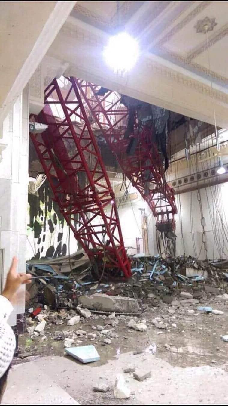 saudi arabia, mecca mosque collapse, saudi arabia mosque collapse, mecca Grand Mosque collapse, saudi arabia news, world news,