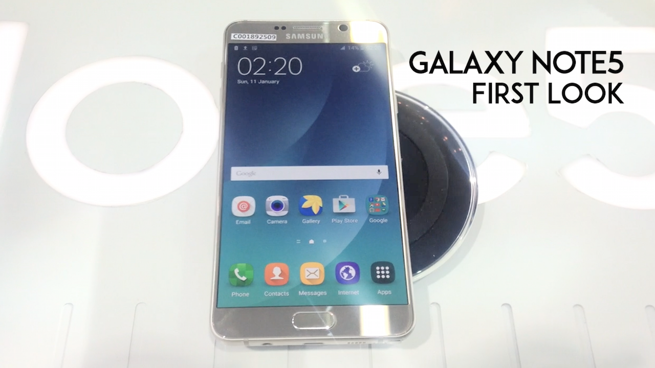 First Look Video: Samsung Galaxy Note5