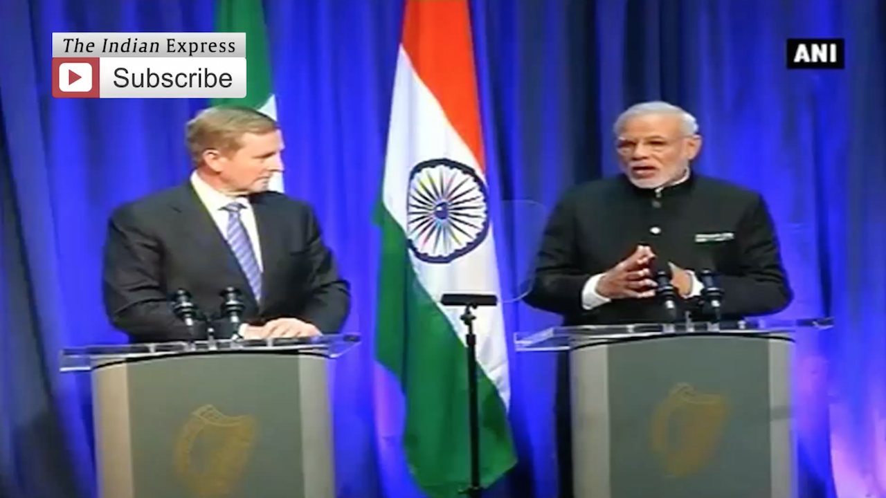 Modi in Ireland: PM seeks Irish support for India's bid in UNSC, NSG