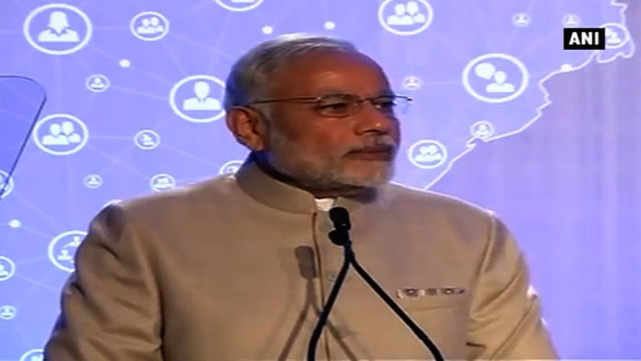 PM Narendra Modi Talks About Digital India Vision At The Silicon Valley