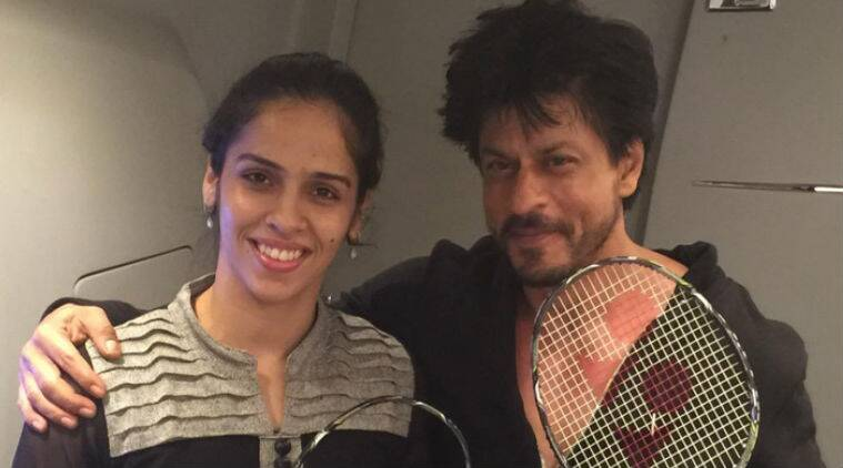 Shah Rukh Khan, Saina Nehwal, Shah Rukh Khan actor, bollywood, entertainment