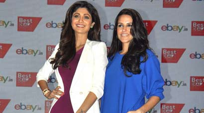 Style just got serious: Shilpa Shetty, Neha Dhupia