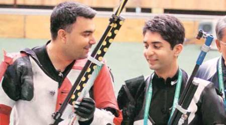 airgun shooting, shooting, abhinav bindra, Asian Airgun Championship, abhinav bindra shooting, sports news, news