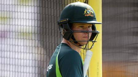 Cricket - Australia Nets - Emirates Old Trafford - 7/9/15 Australia's Steve Smith looks on during a training session Action Images via Reuters / Philip Brown Livepic