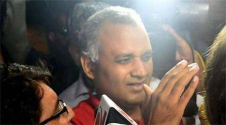 Somnath Bharti's wife refuses mediation, SC asks him to file fresh bail plea before trial court
