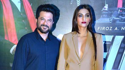 'Welcome Back': Anil Kapoor with boldly dressed daughter Sonam