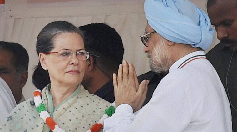 Image result for sonia and manmohan