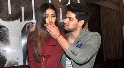 Athiya Shetty, Sooraj Pancholi busy promoting 'Hero'