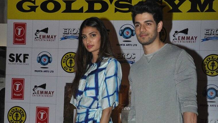 Sooraj Pancholi, Athiya Shetty, Sooraj Pancholi news, Athiya Shetty news, Sooraj Pancholi hero, Athiya Shetty hero, Sooraj Pancholi latest news, Athiya Shetty latest news, entertainment news