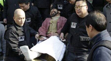 US ambassador, US ambassador slashing, US ambassador slashed, US ambassador injured, US ambassador south korean man, south korean man, south korean man sentenced, Kim Ki jong, Kim Ki jong sentenced, asia news, world news