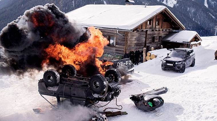 spectre, spectre car stunts, spectre james bond, spectre movie, spectre cast, spectre stunts