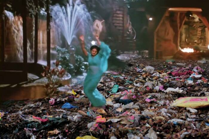 Sridevi dancing on waste? At least in this modified poster