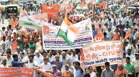 bharat bandh, bandh, strike, nationwide strike, shutdown, all india strike, trade union strike, labour law, protest, countyrywide strike,