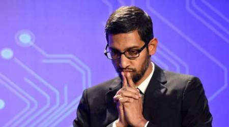 Google CEO, Google Sundar Pichai, Sundar Pichai PM Modi, Prime Minister Narendra Modi, Modi Silicon Valley, Modi CEO meet, Modi meets Silicon Valley CEOs, PM Modi Silicon Valley, PM Modi San Jose, Satya Nadella, Satya Nadella Microsoft CEO, technology, technology news