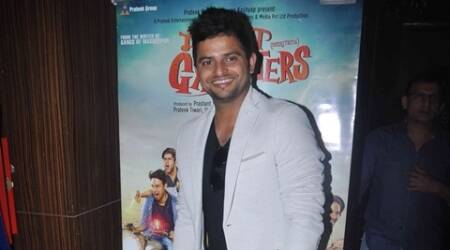 suresh raina, Meeruthiya Gangsters, suresh raina song, suresh raina Meeruthiya Gangsters, Meeruthiya Gangsters movie, Meeruthiya Gangsters songs, Meeruthiya Gangsters music launch, Meeruthiya Gangsters news, suresh raina news, entertainment news