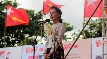 Myanmar polls: Aung San Suu Kyi opens election campaign on Facebook with a video message