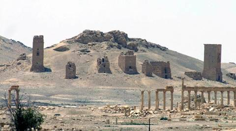 IS blows up three Roman-era funerary towers in Palmyra