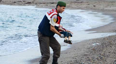 Syrian migrant boat capsize: Image of toddler sparks furore on social media; 12 dead