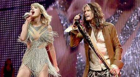 Steven Tyler joins Taylor Swift onstage