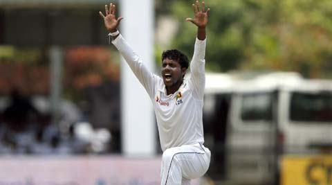 Sri Lanka off-spinner Tharindu Kaushal reported for illlegal bowling action