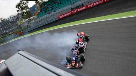 Monza: Formula One's beaten track