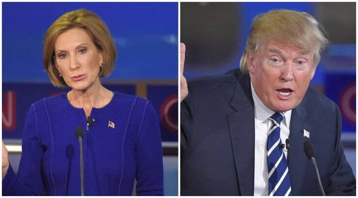 donald trump, carly fiorina, GOP debate, republican debate, CNN republican debate, US elections, donald trump news, GOP debate video
