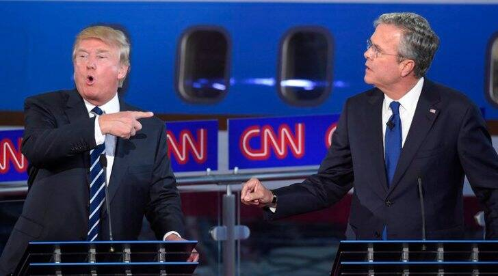 GOP debate, donald trump, jeb bush, republican debate, 2016 US elections, CNN debate, republican primary, ted cruz, rand paul, US news, US elections