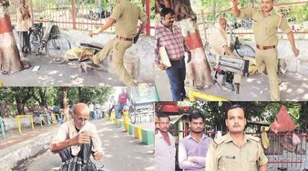 After social media outrage, Lucknow cop suspended for breaking elderly man'stypewriter